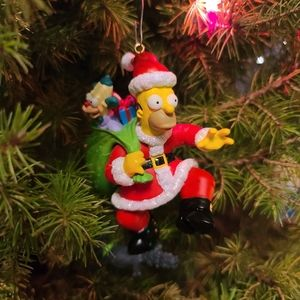 NWOT Collectible Simpsons Ornament